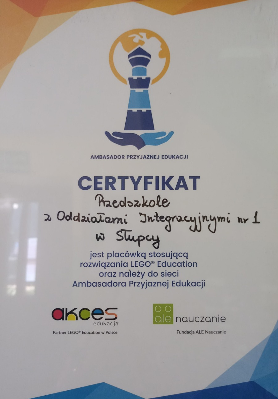 Certyfikat APE