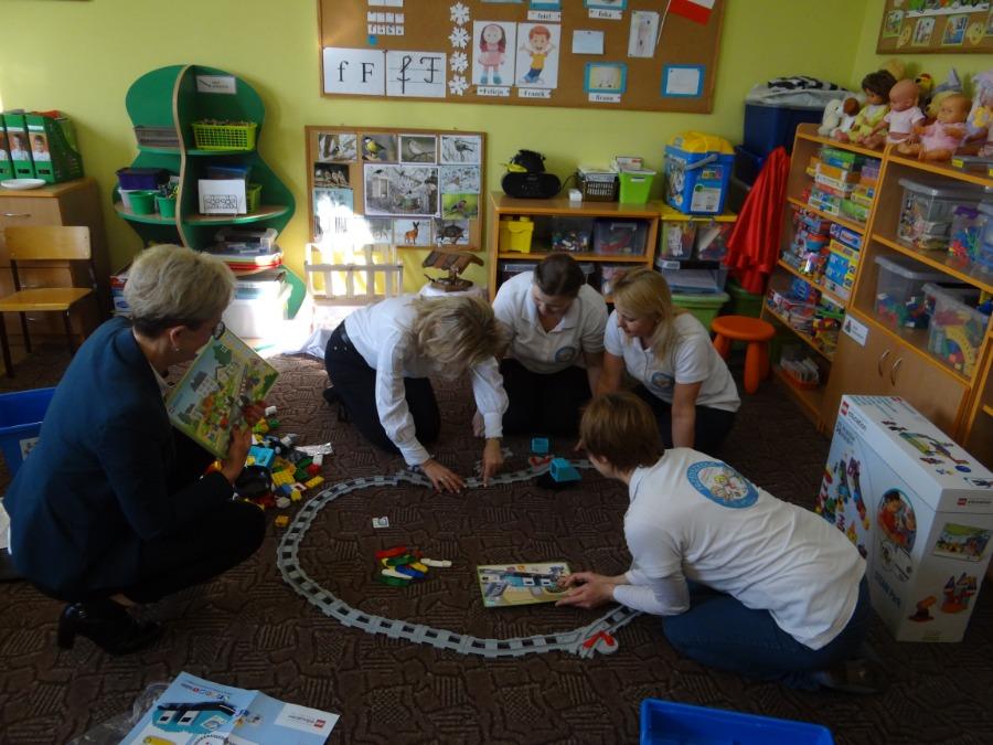Działanie praktyczne- klocki Lego Education
