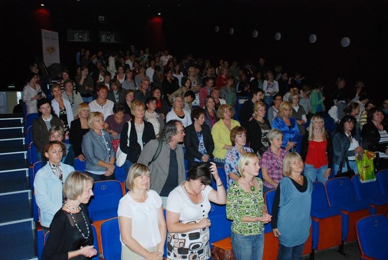 Liczna publiczność podczas konferencji