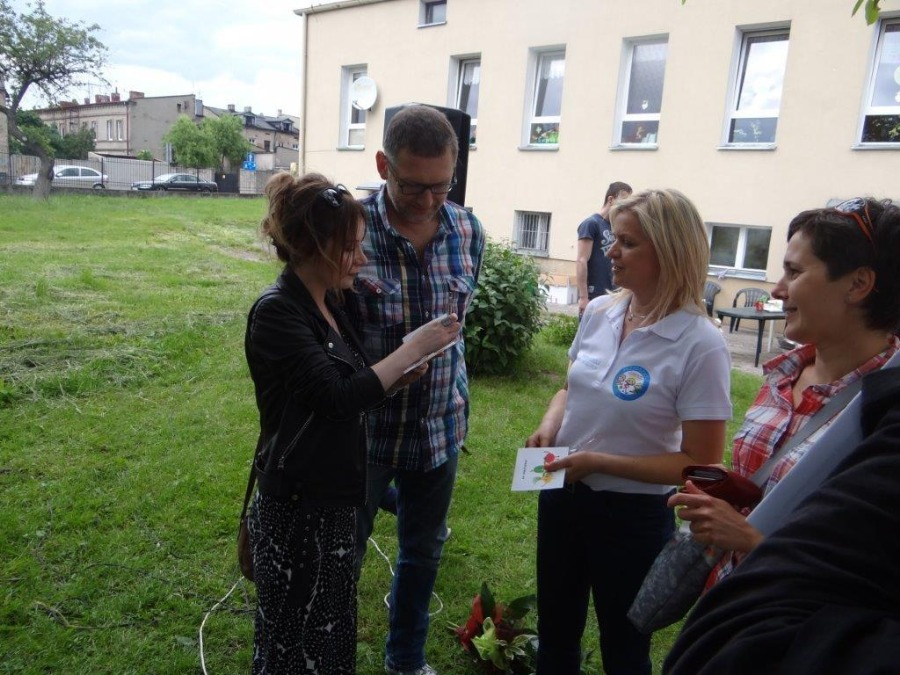 Rozmowa Pani Dyrektor z Panią Anną Komin oraz Panem Maciejem Muraszko