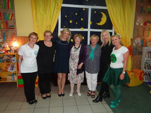 Spotkanie Pani Doroty Gellner oraz Pani Alicji Twardowskiej z nauczycielkami przedszkola